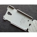 Кожаный чехол Melkco Leather Case White LC для Samsung i9500 Galaxy S4(#4)