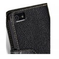 Кожаный чехол книга Melkco Leather Case Wallet Type Black LC для Apple iPhone 5/5S/5SE(#3)