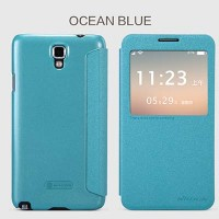 Полиуретановый чехол Nillkin Sparkle Leather Case Ocean для Samsung N7505 Galaxy Note 3 Neo Dual