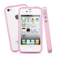 Бампер SGP Neo Hybrid 2S Pastel Series Light Pink для Apple iPhone 4/4S