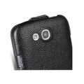 Кожаный чехол Melkco Leather Case Black LC для Samsung i9500 Galaxy S4(#4)