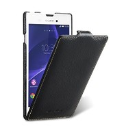 Кожаный чехол Melkco Leather Case Black LC для Sony Xperia T3