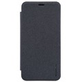 Полиуретановый чехол Nillkin Sparkle Leather Case Black для Meizu M2 mini(#1)