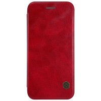 Кожаный чехол Nillkin Qin Leather Case Red для Apple iPhone 7