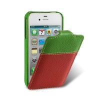 Кожаный чехол-книга Melkco Premium Case The Nations Portugal для Apple iPhone 4/4S