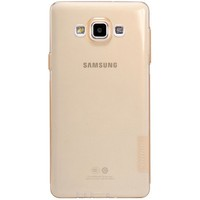 Силиконовый чехол Nillkin Nature TPU Case Brown для Samsung Galaxy A7