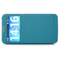 Кожаный чехол Nillkin Sparkle Leather Case Blue для LG G Pro Lite D686