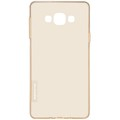 Силиконовый чехол Nillkin Nature TPU Case Brown для Samsung Galaxy A7(#2)