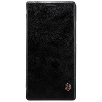 Кожаный чехол Nillkin Qin Leather Case Black для Sony Xperia C4
