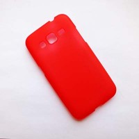 Силиконовый чехол Becolor Red Mat для Samsung G360 Galaxy Core Prime