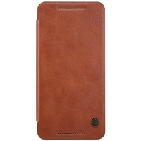 Кожаный чехол Nillkin Qin Leather Case Brown для HTC One E9/One E9 Plus