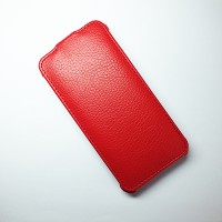 Кожаный чехол Armor Case Red для Alcatel One Touch Idol Mini 6012X