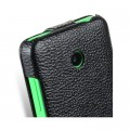 Кожаный чехол Melkco Leather Case Black LC для Nokia Lumia 630(#4)