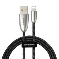 Кабель Baseus Torch Series Data Cable USB для IPhone 2.4A 1m (CALHJ-C01) черный