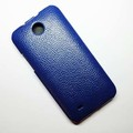 Кожаный чехол Melkco Leather Case Dark Blue LC для HTC Desire 300(#2)