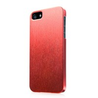 Пластиковый чехол Capdase Karapase Silva Satin Red для Apple iPhone 5/5S/5SE