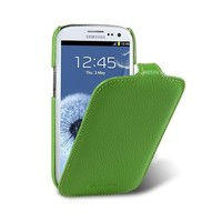 Кожаный чехол Melkco Leather Case Green LC для Samsung i9300 Galaxy S3