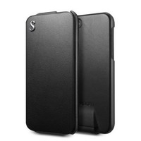 Кожаный чехол SGP Leather Case illuzion Legend Black для Apple iPhone 5/5S/5SE