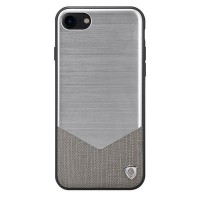 Гибридная накладка Nillkin Lensen Case Silver для Apple iPhone 7/iPhone 8