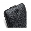 Кожаный чехол Melkco Leather Case Black LC для HTC Desire 300(#4)