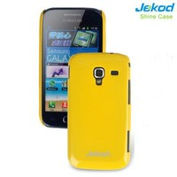 Пластиковый чехол Jekod Shine Case Yellow для Samsung i8160 Galaxy Ace 2