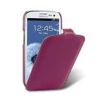 Кожаный чехол Melkco Leather Case Purple LC для Samsung i9300 Galaxy S3