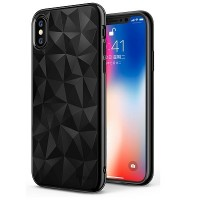 Защитный чехол бампер Ringke Air Prism Series Ink Black для Apple iPhone X/ iPhone XS