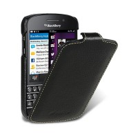 Кожаный чехол Melkco Leather Case Black LC для BlackBerry Q10