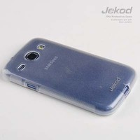 Силиконовый чехол Jekod TPU Case White для Samsung i8262 Galaxy Core