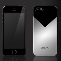 Пластиковый чехол More Metallic Series Aluminium для Apple iPhone 5/5S/5SE