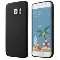 Кожаная накладка Baseus Slim Soft Series Case Black для Samsung G925F Galaxy S6 Edge