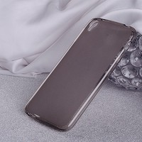 Силиконовый чехол Becolor TPU Case Grey для Alcatel One Touch Idol 3 (4.7) 6039Y