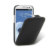 Кожаный чехол книга Melkco Leather Case Black LC для Samsung i9300 Galaxy S3