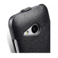 Кожаный чехол Melkco Leather Case Black LC для HTC One M8 mini 2(#4)