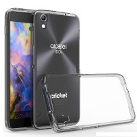 Силиконовый чехол Crashproof Case Transparent для Alcatel Idol 4 6055K