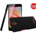 Пластиковый чехол Imak Hard Case Black для Alcatel One Touch Idol X 6040(#1)