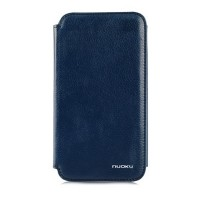 Кожаный чехол Nuoku Grace Series Blue для Samsung N7100 Galaxy Note 2