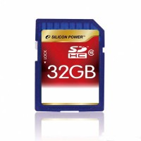 Карта памяти Silicon Power SDHC Card 32GB Class 10