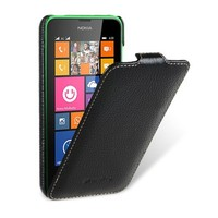 Кожаный чехол Melkco Leather Case Black LC для Nokia Lumia 630