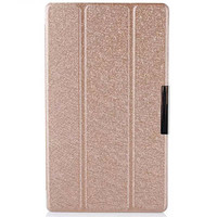 Полиуретановый чехол Mofi Book Case Gold для Sony Xperia Tablet Z3 Compact