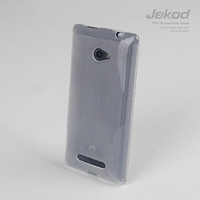 Силиконовый чехол Jekod TPU Case White для HTC Windows Phone 8X
