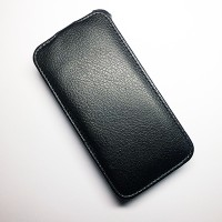 Кожаный чехол Armor Case Black для Lenovo IdeaPhone A390