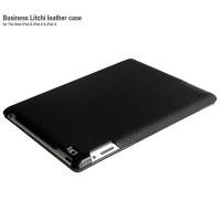 Кожаный чехол HOCO Business Litchi Series Black для Apple iPad 4/3/2