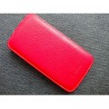 Кожаный чехол Melkco Leather Case Red LC для Samsung i9500 Galaxy S4(#1)