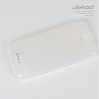 Силиконовый чехол Jekod TPU Case White для Samsung i9295 Galaxy S4 Active