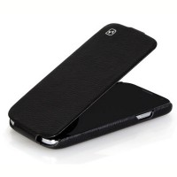 Кожаный чехол HOCO Duke leather Case Black для Samsung i9500 Galaxy S4