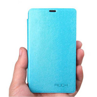 Чехол книга Rock Big City Light Blue для Nokia Lumia 820