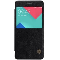Кожаный чехол Nillkin Qin Leather Case Black для Samsung A710F Galaxy A7 (2016)