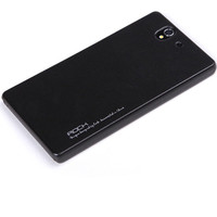 Пластиковый чехол ROCK NEW NakedShell Series Black для Sony Xperia Z L36h