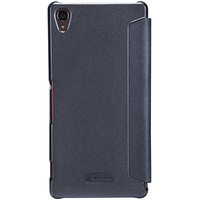 Полиуретановый чехол Nillkin Sparkle Leather Case Black  для Sony Xperia Z3 D6603